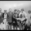 Maddux party and Australian flyer leaving for San Diego, Southern California, 1928