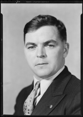 Mr. Austin L. Lord, Southern California, 1931