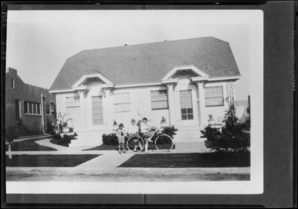Copy of Kodak print, Southern California, 1928