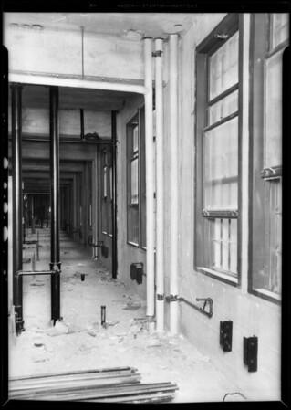 Steam installation, County Hospital, Los Angeles, CA, 1931