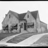 Comstock Street, Westwood, Los Angeles, CA, 1925