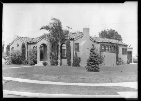 966 Harcourt, Southern California, 1929