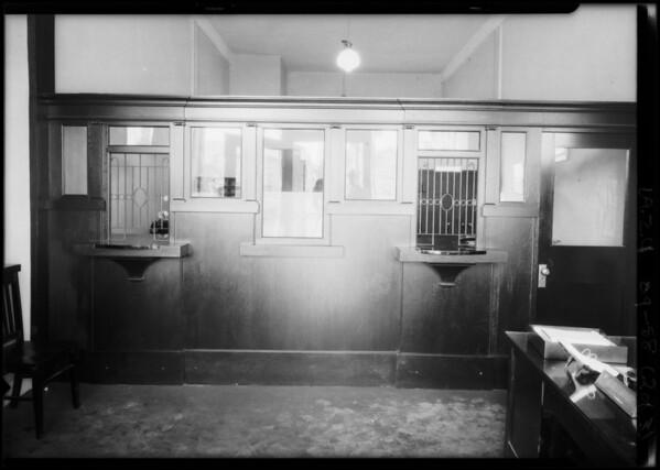 Pacific-Southwest Trust & Savings Bank, 985 West Vernon Avenue Los Angeles, 1924