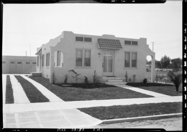 5813 Cimarron Street, Los Angeles, CA, 1925