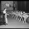 Majestic radio at Belcher School of Dancing, Southern California, 1929