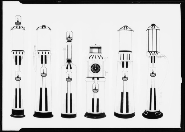 Copy of pumps, Southern California, 1931