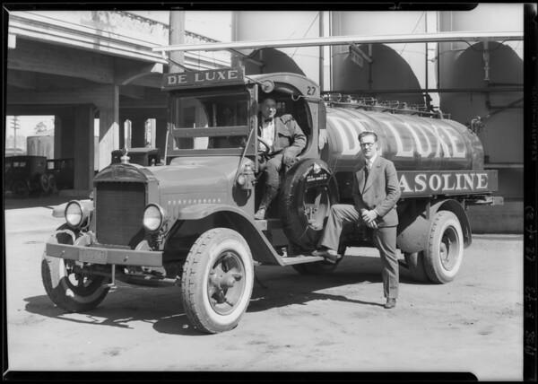 Seaboard Petroleum Co. trucks, Southern California, 1928