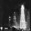 Christmas oil well, Santa Fe Springs, CA, 1929