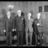 W.M. Garland group at Biltmore Hotel, Southern California, 1930