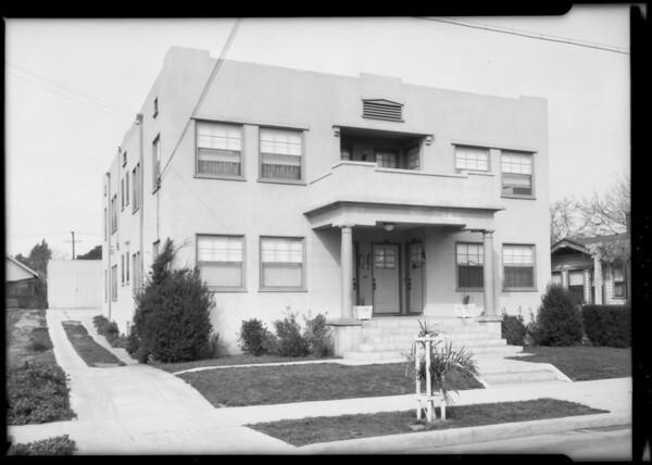 1151 North Mariposa, Southern California, 1925