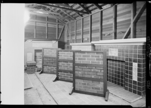 Pacific Ready Cut Homes, showroom displays, Southern California, 1925