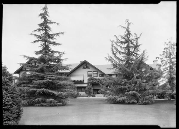 Home of H. Jevne, San Rafael Heights, Pasadena, CA, 1925