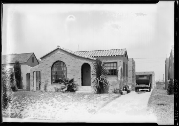 551 West 102nd Street, Los Angeles, CA, 1927