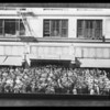 Composite of crowd, Broadway Department Store, Los Angeles, CA, 1930
