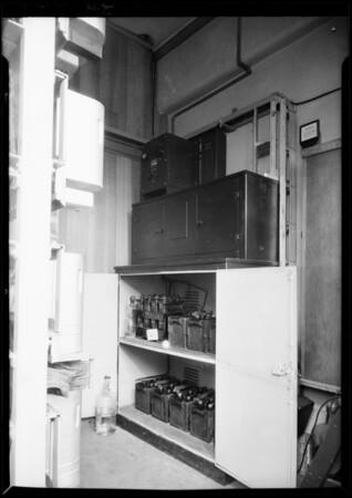 Power filter, Diamond E, Southern California, 1931