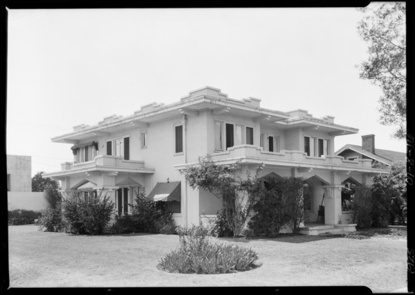 939 Gramercy Place, Los Angeles, CA, 1925