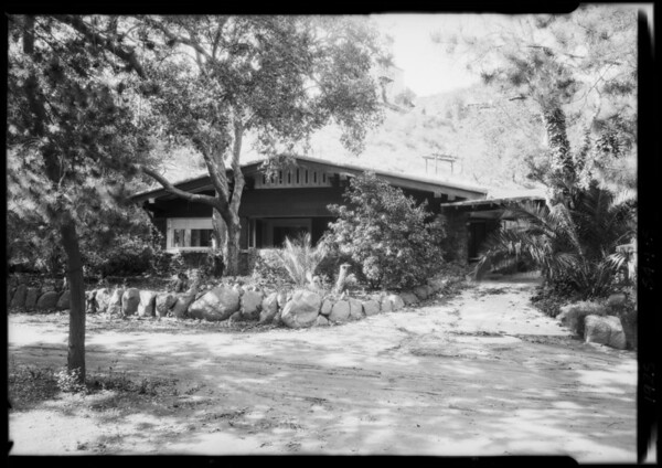 245 West Canyon, Laurel Canyon, Los Angeles, CA, 1925
