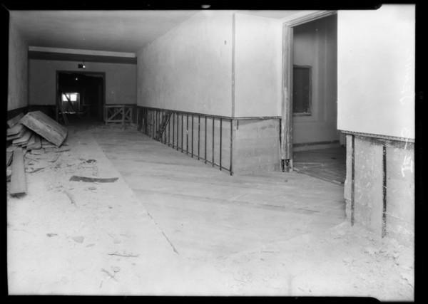 Installation, County Hospital, Jean Co., Los Angeles, CA, 1931