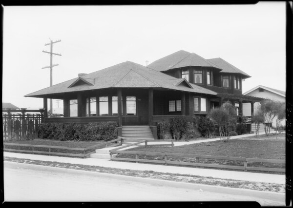 903 Amorosa Place, Venice, Los Angeles, CA, 1925