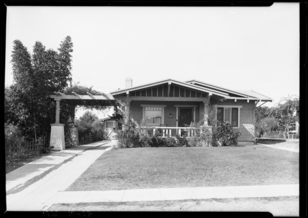 1219 Sierra Bonita, Pasadena, CA, 1925