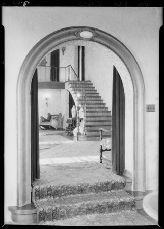 Interiors of house at Dean & Angelus Mesa Boulevard, Southern California, 1928