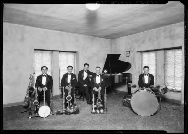 Joie Starr's Orchestra, Southern California, 1927
