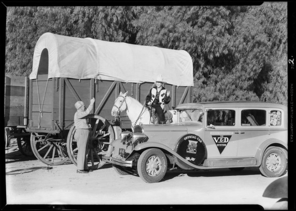 Van Durke travel car, Shell Oil Co., Southern California, 1931