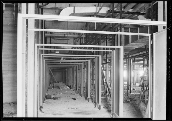 County Hospital, Metal Door & Trim, Los Angeles, CA, 1931