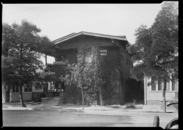 2621 Juliet Street, Southern California, 1928
