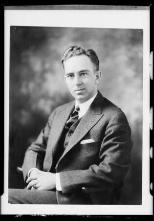 Mr. Tucker, Platt Music Co., Southern California, 1931