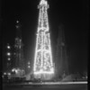 Christmas oil well, Santa Fe Springs, CA, 1929