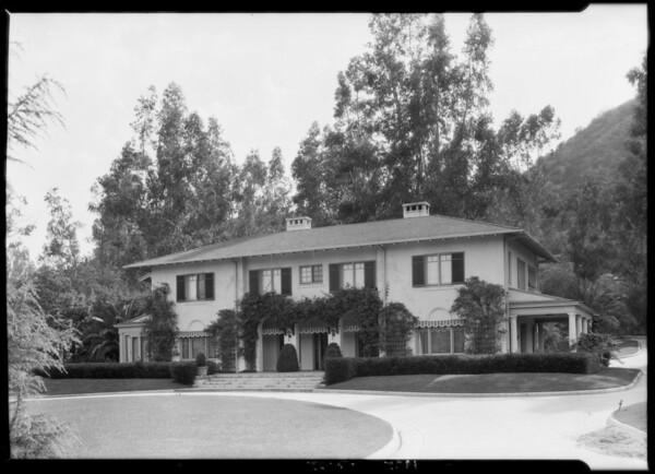 Home of Armour meat packer, 962 Linda Vista Avenue, Pasadena, CA, 1925