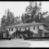 Home of Armour meat packer, 962 Linda Vista Avenue, Pasadena, CA, 1925