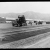 Composite of work on Grand Central Airport, Glendale, CA, 1928