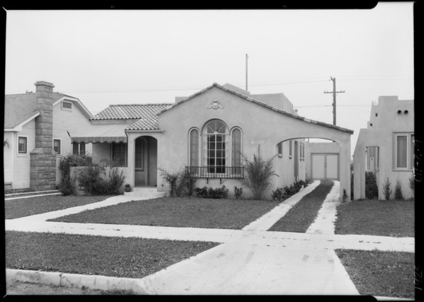 2351 South Cloverdale Avenue, Los Angeles, CA, 1925