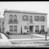 El Miradero Apartments, 5424 Franklin Avenue, Los Angeles, CA, 1925