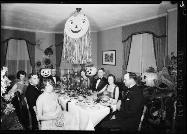 Halloween party, Southern California, 1928