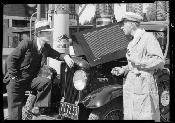 Economy Gasoline braodcasters, Southern California, 1931