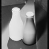 Two bottles of milk, Southern California, 1931
