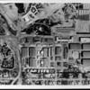 An aerial view of 20th Century Fox Studios