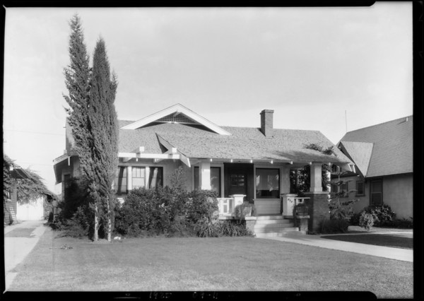 946 North Mariposa Avenue, Los Angeles, CA, 1925