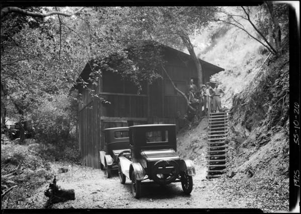 Cabin in Palmer Canyon, Southern California, 1925