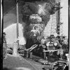 Oil well fire, Santa Fe Springs, CA, 1928