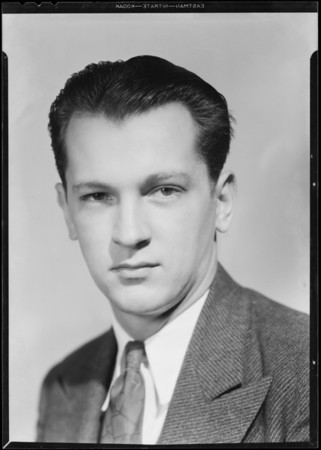 Portrait of Charles G. Witt, Southern California, 1931