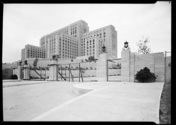 Installations at County Hospital, Los Angeles, CA, 1931