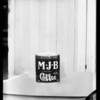Can of M.J.B. coffee for composite, Southern California, 1928