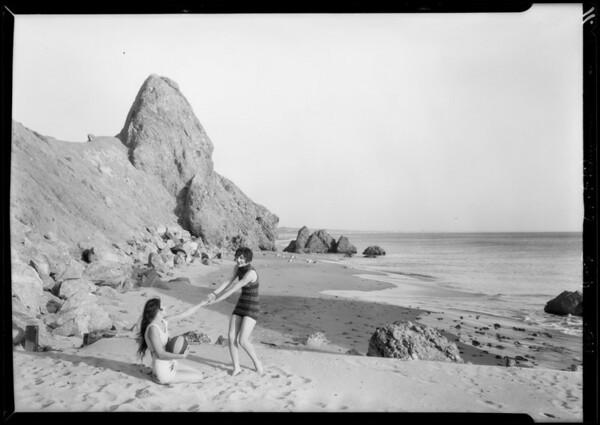 Recreation possibilities near California Riviera, Los Angeles, CA, 1928