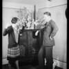 Radio at Hollwood baths, North Cahuenga Boulevard & Yucca Street, Los Angeles, CA, 1930