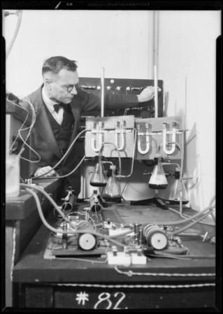 Professor Adams, University of California Los Angeles, Southern California, 1931