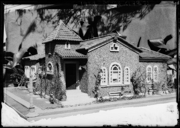 Model House - [d]ad Carter, Southern California, 1924
